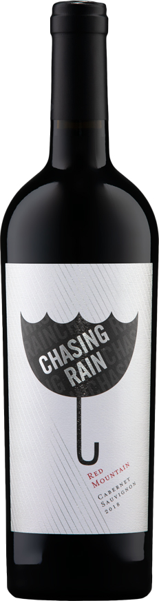 Chasing Rain 2018 Cabernet Sauvignon - Red Mountain Wines - Aquilini Family Wines