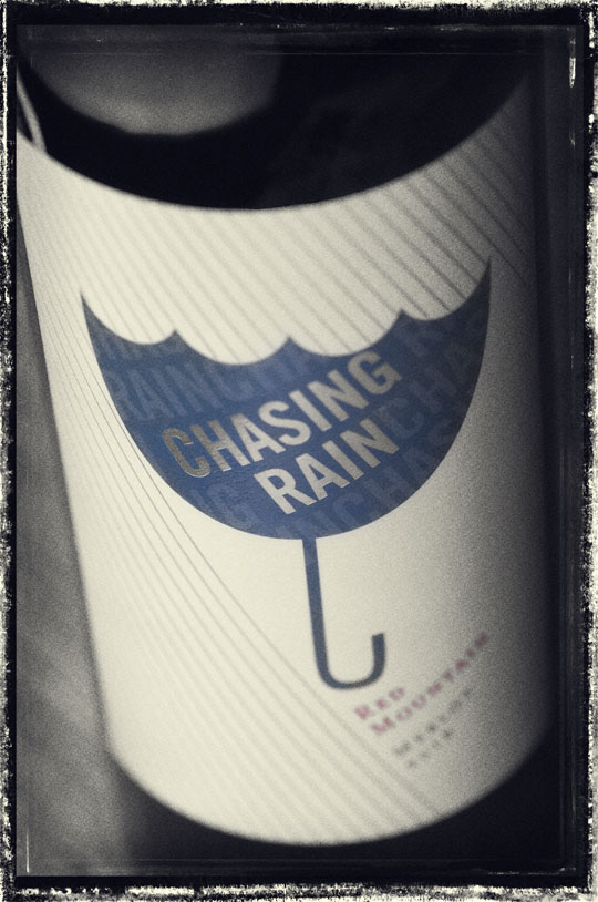 Chasing Rain 2018 Merlot - Red Mountain Wine - Chasing Rain Wines