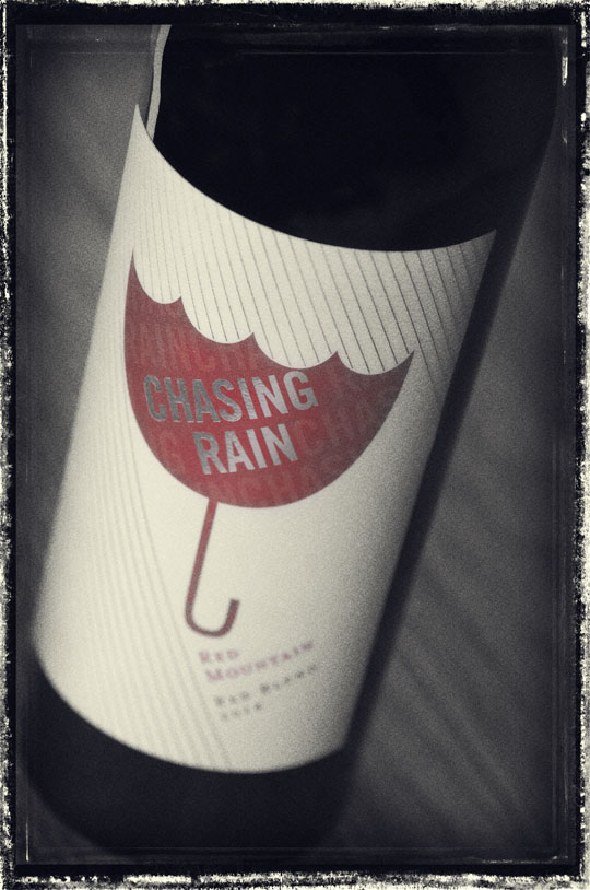 Chasing Rain 2018 Red Blend - Red Mountain Wines - Chasing Rain Wines