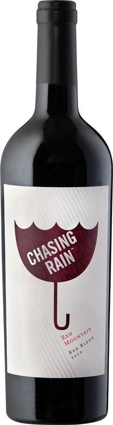 Chasing Rain 2019 Red Blend - Red Mountain Wines - Chasing Rain Wines